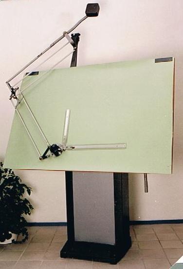 225 Tekentafel met paralel machine Image