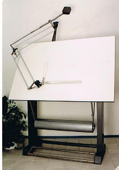 224 Tekentafel met paralel machine Image