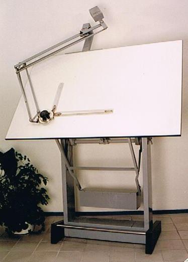 228 Tekentafel met machine Image