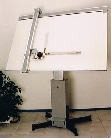 230 Tekentafel met machine Image