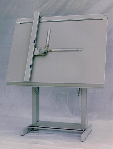 234 Tekentafel met machine Image